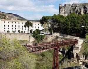 Cuenca. Puente y Parador de San Pablo.