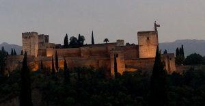 Alhambra de Granada. Alcazaba.