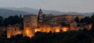 Alhambra de Granada. Palacios Nazaríes y Palacio de Carlos V.