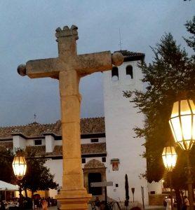 Granada. Albaicín. Plaza de San Miguel Bajo.