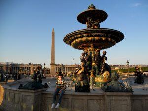 París. Fuentes de la Concordia.