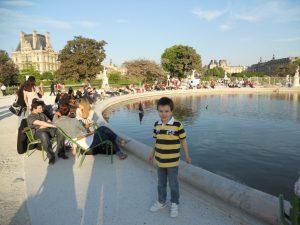 París. Jardín de las Tullerías.