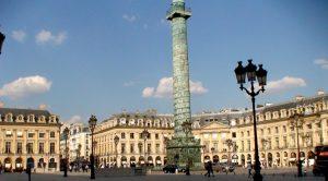 París. Plaza Vendôme.