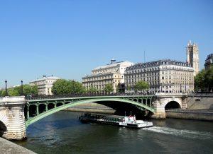 Paris. Puente de Notre Dame