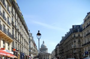 París. Rue Souflot.