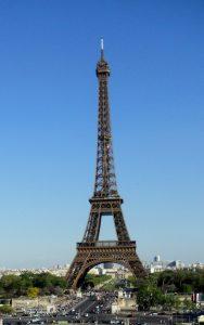 París. Torre Eiffel desde Trocadero.