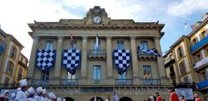 San Sebastián. Plaza de la Constitución el 20 de enero.