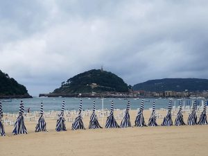 San Sebastián. Playa de Ondarreta.