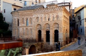 Toledo. Mezquita del Cristo de la Luz.