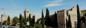 Toledo. Murallas y Puerta de Carlos V.