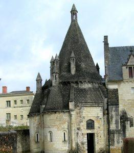 Abadía de Fontevraud. Cocina Románica.