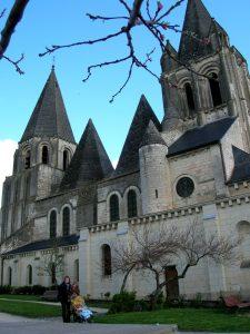 Loches. Colegiata de Saint Ours.