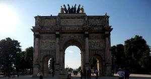 París. Arco del Carrusel