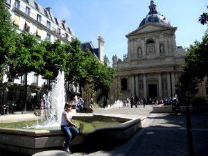 París. Plaza de la Sorbona.