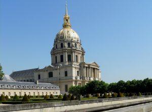 París. Los Inválidos. Iglesia del Dôme.