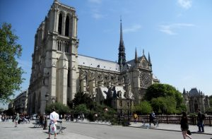 París. Catedral de Notre Dame
