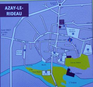 Plano de Azay-Le-Rideau