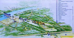 Plano del Chateau de Chenonceau