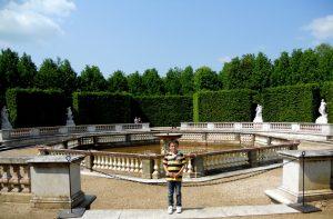 Versalles. Fuente de las Damas. Bosquet des Dames