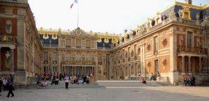 Versalles. Patio de Mármol.