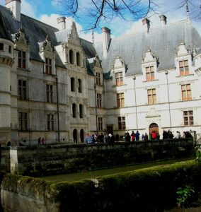 Loira. Azay-Le-Rideau.