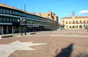 Almagro. Plaza Mayor.