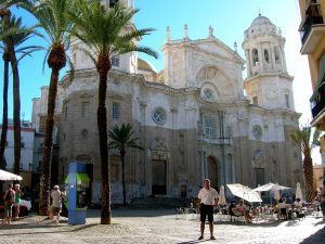 Cádiz. Plaza de la Catedral.