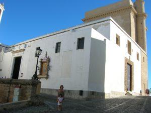 Cádiz. Iglesia de Santa Cruz.
