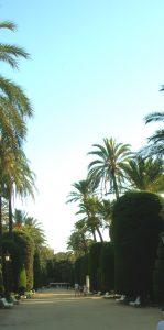 Cádiz. Parque Genovés.