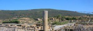 Playa de Bolonia. Ruinas de Baelo Claudia.
