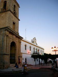 Conil de la Frontera. Iglesia de Nuestra Señora de las Virtudes.