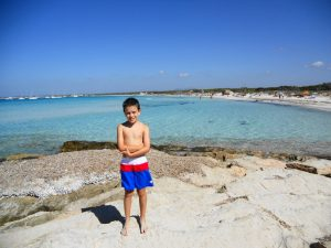 Mallorca. Playa de Es Trenc.