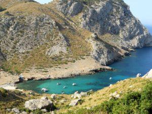 Mallorca. Formentor. Cala Figuera.