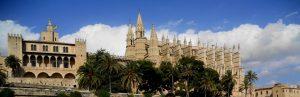 Mallorca. Palma. Catedral y Almudaina.