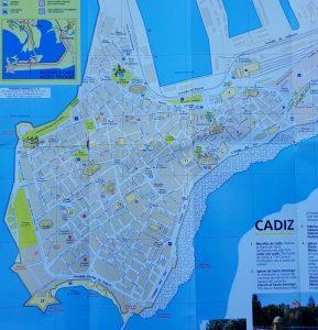 Plano de Cádiz.