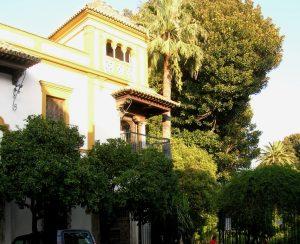 Sevilla. Jardines de Murilllo y Barrio de Santa Cruz.