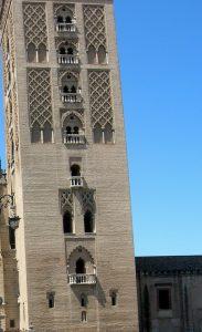Sevilla. Giralda. Parte Almohade