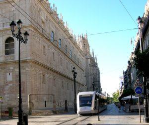 Sevilla. Avenida de la Constitución.