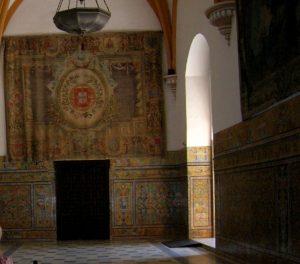 Sevilla. Real Alcázar. Salones de Carlos V.