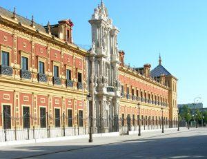 Sevilla. Palacio de San Telmo.