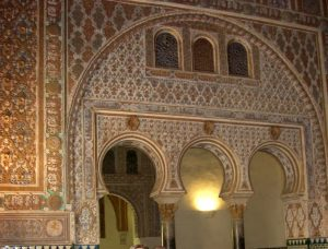 Sevilla. Real Alcázar. Arcos, Salón de Embajadores