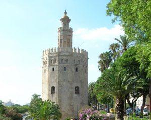 Sevilla. Torre del Oro.