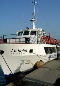 Tarifa. Barco avistamiento cetáceos.