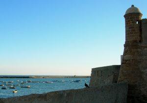 Cádiz. Castillo de Santa Catalina.