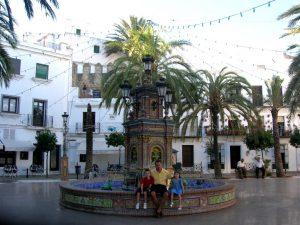Vejer de la Frontera. Plaza de España.
