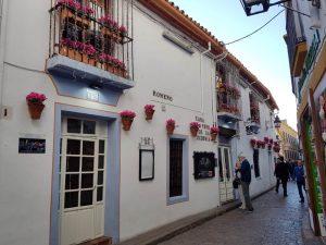 Córdoba. Judería. Casa Pepe.