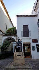 Córdoba. Judería. Plaza Maimónides.