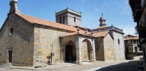 La Alberca. Iglesia.