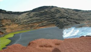 Lanzarote. El Golfo. Lago de los Clicos.