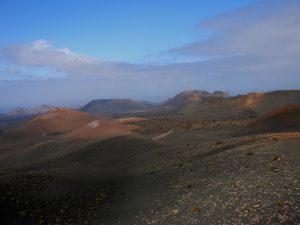 Timanfaya. Montañas del Fuego. Ruta de los Volcanes.